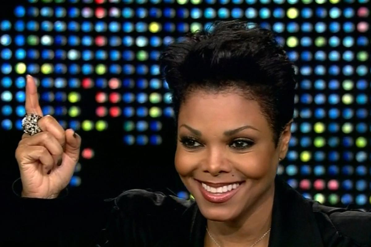 Janet Jackson on Larry King Live