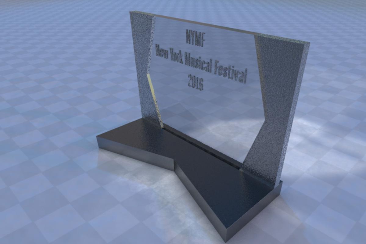 NYMF Award Rendering/Concept Art