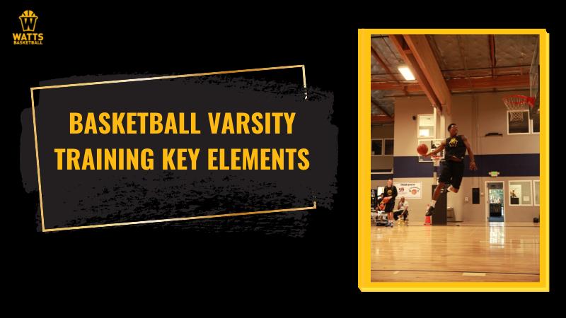 Basketball varsity training