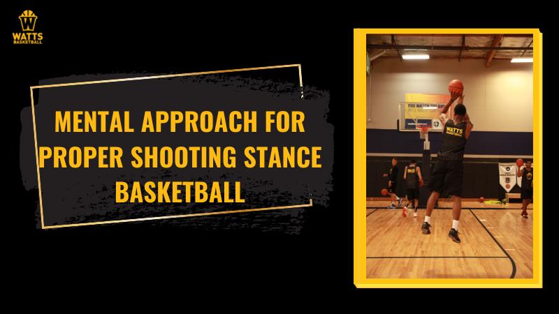 proper shooting stance basketball