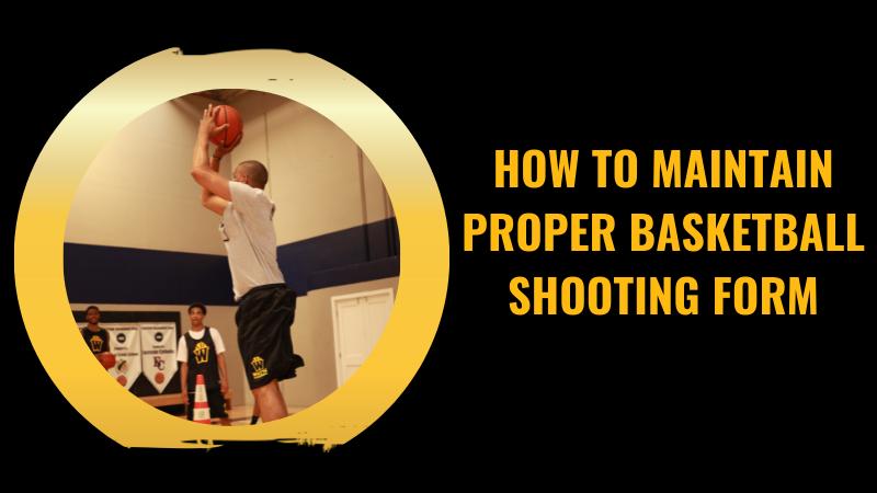 basketball shooting form