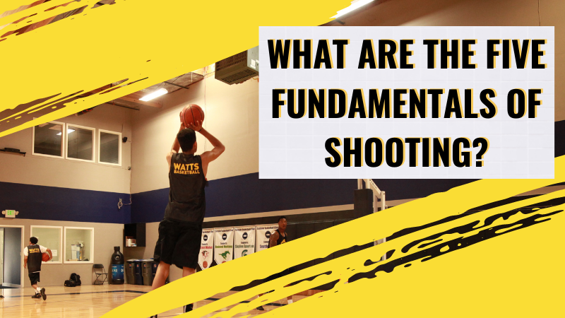 What are the Five Fundamentals of Shooting?