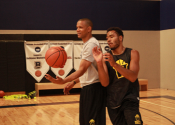 private and small basketball training