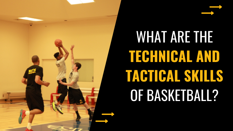 technical and tactical skills of basketball