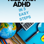 Homeschooling with ADHD pin