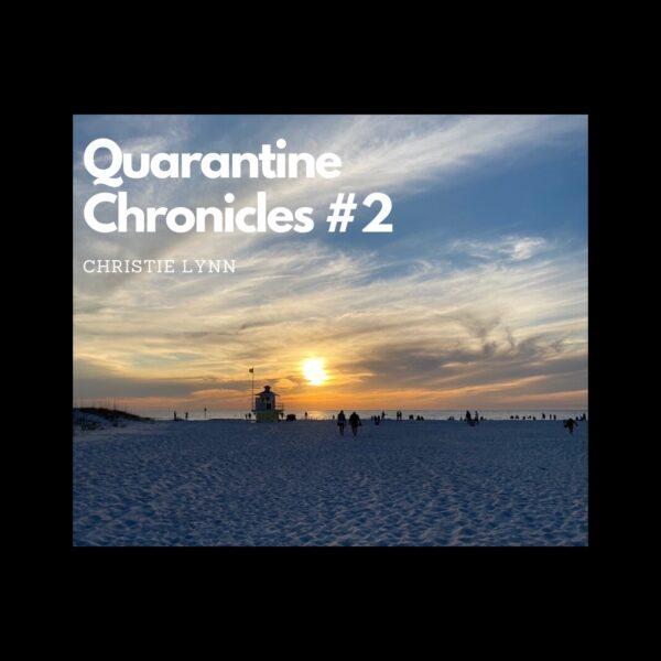 Quarantine Thoughts #2: Guilt