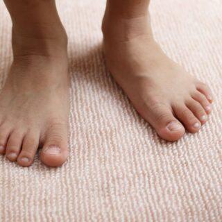 flat feet in kids