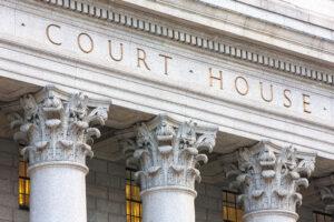 court house exterior columns