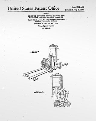 Patent issued for CNC Bender carriage