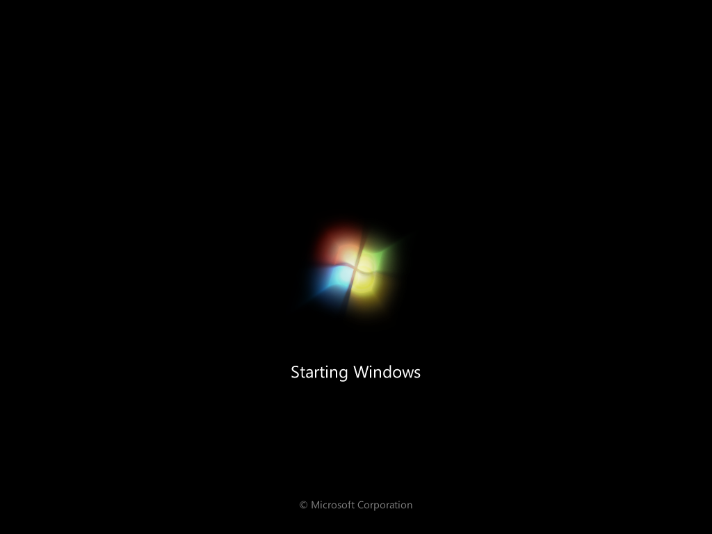 how to install window 7  Step 16