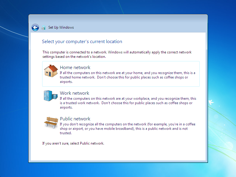how to install window 7  Step 23
