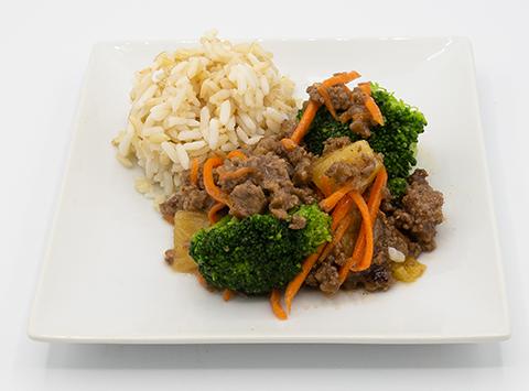 Beef Teriyaki with Whole Grain Rice
