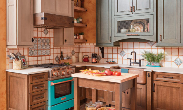 Colorful Kitchen Inspiration