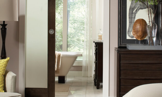 More Space in Bathrooms