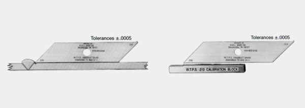 W.T.P.S. Gauge with Calibration Block