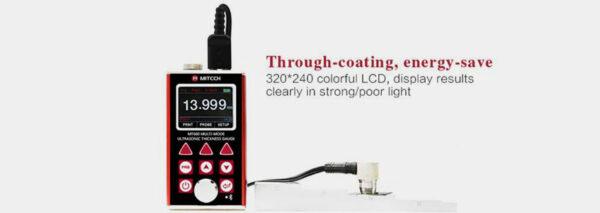 Multi-Mode Ultrasonic Thickness Gauge