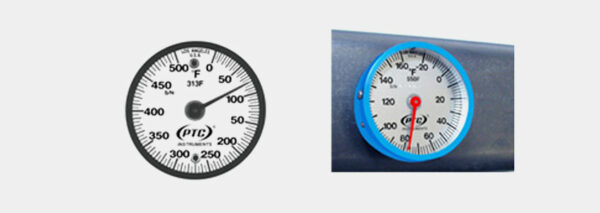 Magnetic Surface Thermometer