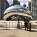 We had a blast walking the city of Chicago for our Greyhound 5K Gallop! We ended our Gallop at the iconic bean.