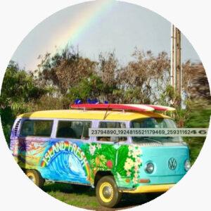 vw bus island fresh cafe paia maui hawaii