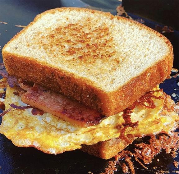 monte christo paia breakfast sanwich