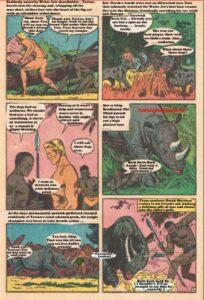Tartan The Apeman Story1 Page 2 text