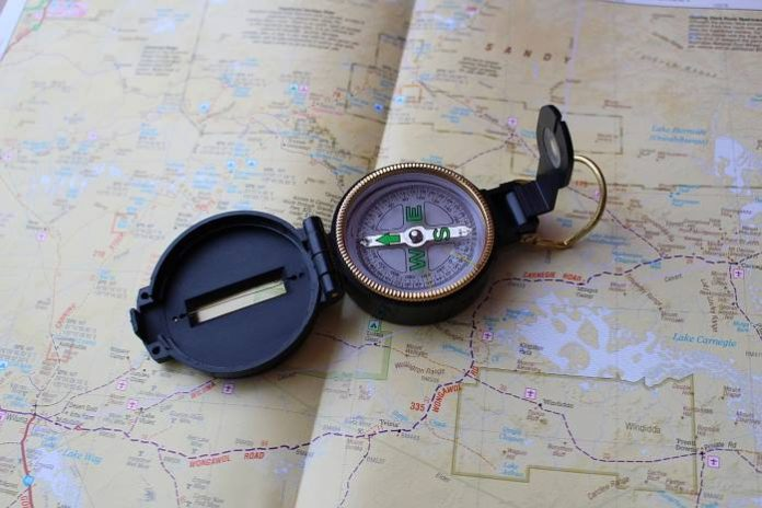 Funny Articles, Monkey Pickles, how to use a compass