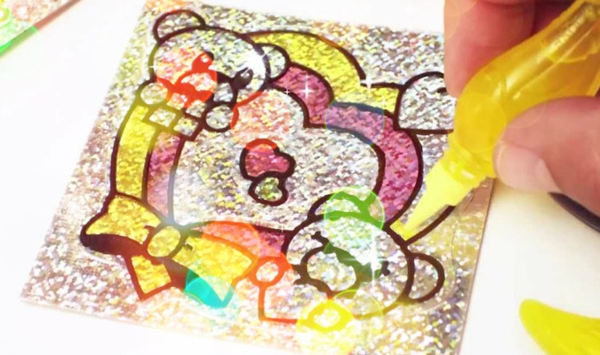 How To Make Foil Stickers