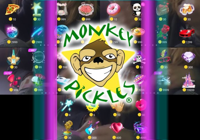 Live Me Giveaway Monkey Pickles