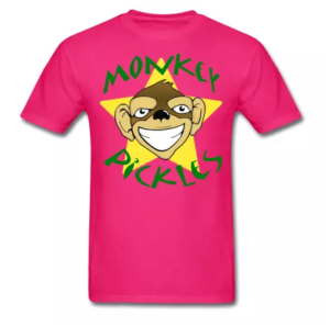 Monkey Pickles Gear, Monkey Pickles Spreadshirt, Official Monkey Pickles, Monkey Pickles Shirts