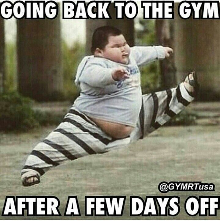 going back to gym meme