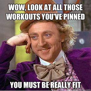 workout willy wonka