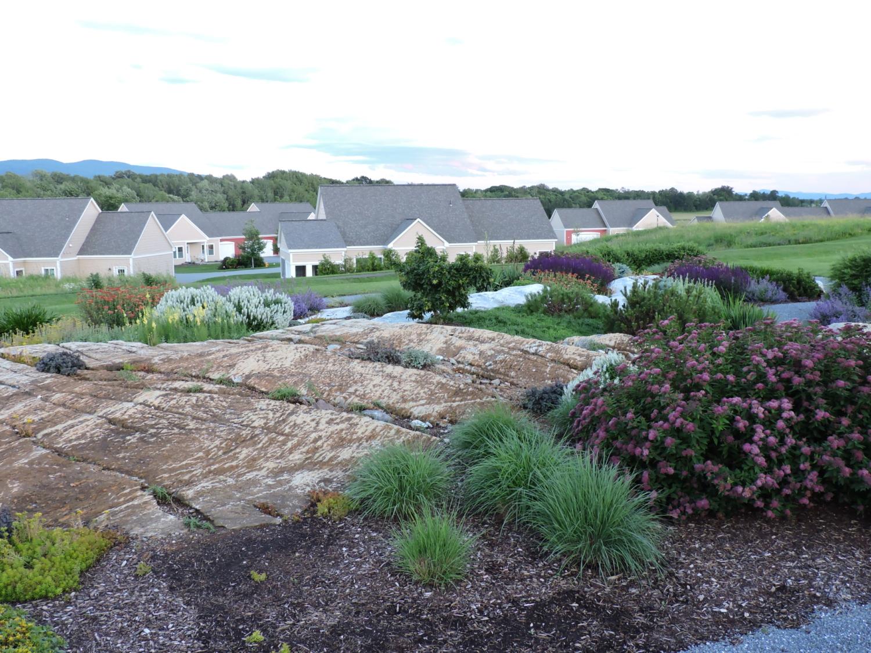 Alpine Garden to cottages
