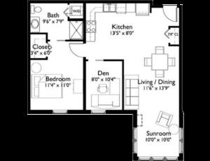 EastView Floor Plan DayLily