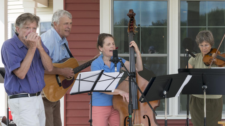 Connie, Chris & John Singing