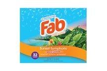 Fab Sunset Symphony Powder Laundry Detergent (2.6 lbs)