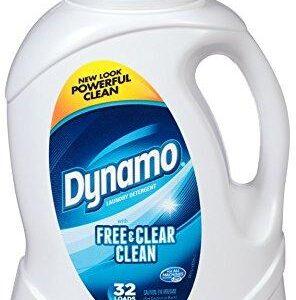 Dynamo Free & Clear Clean Liquid Laundry Detergent (50oz)