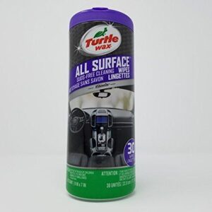 Turtle Wax 5100 30 Pack Automotive Cleaning Wipes