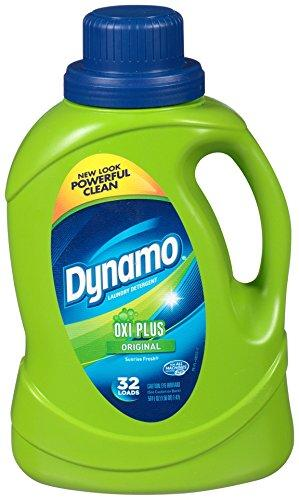 Dynamo Original Oxi Plus Liquid Laundry Detergent (50oz)