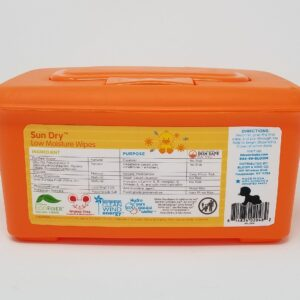 bloom BABY Sun Dry Baby Wipes Tub (80-Count)