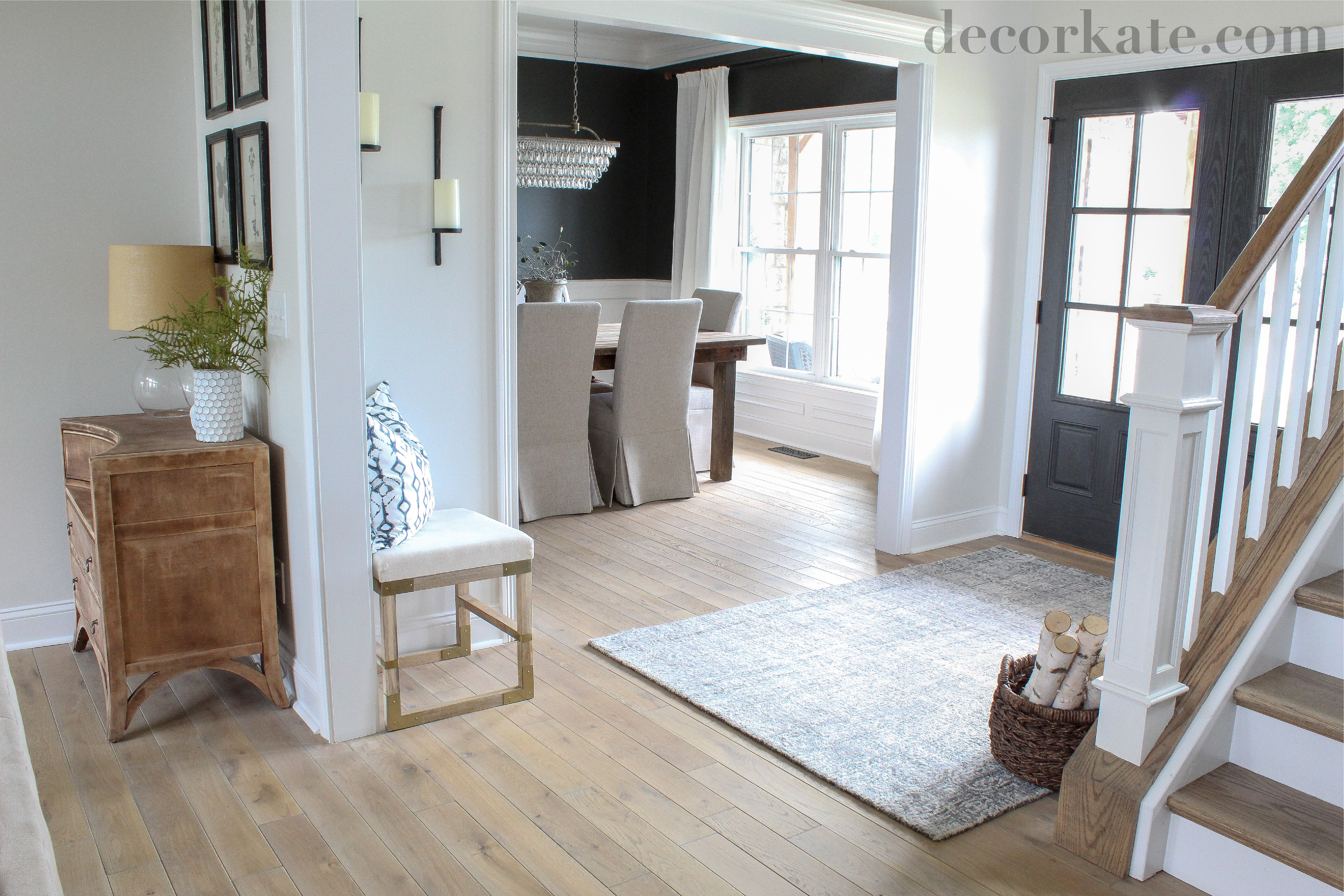 Entry and Formal Dining Room