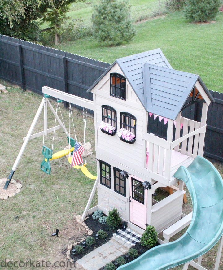 playhouse painted