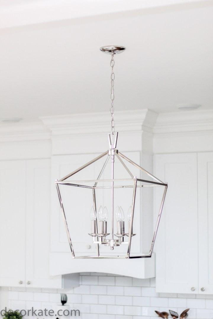 6 light lantern pendant