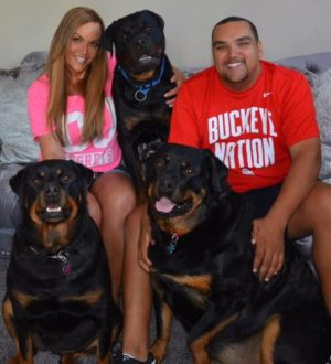 kelley gunter son and dogs