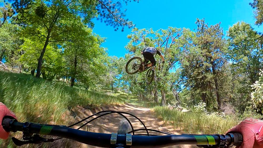 Crestline Downhill trails