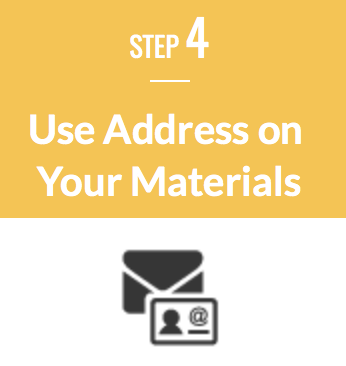 Use Address on Materials