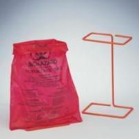 Biohazard Bag, Bench-Top, 3.8mil