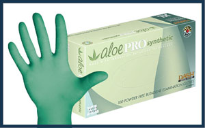 AloePro Synthetic Glove, 10 packs/case