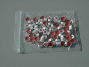 Silicone/PTFE Aluminum Crimp Top