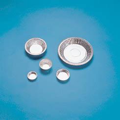 Aluminum Dish with Flange, 180 mm