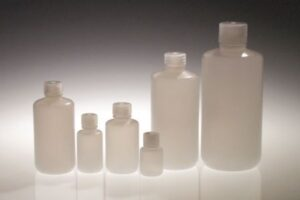 32 oz. HDPE Narrow Mouth Laboratory Style Bottle w/ PP closure
